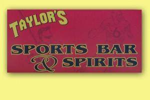 Taylor's Sports Bar & Spirits