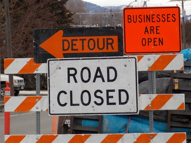 North Rouse Avenue Closed