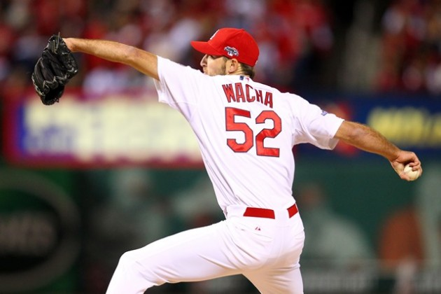 Michael Wacha winding up