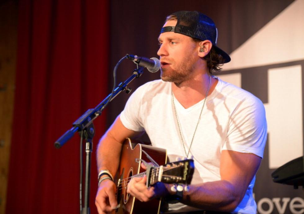 Chase Rice Tickets Signed Guitar