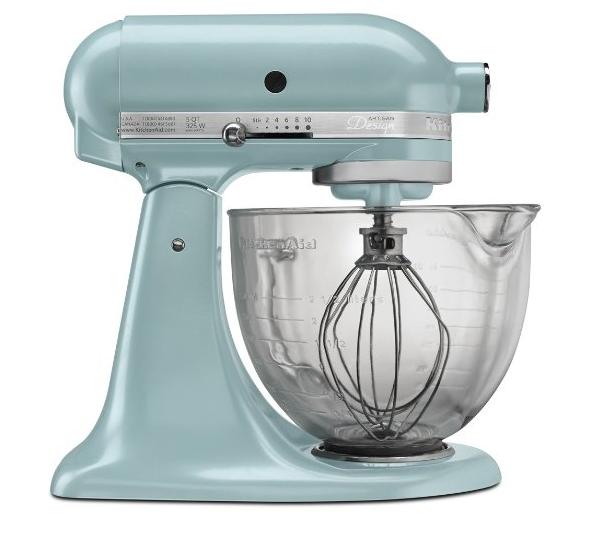 kitchenaid mixer blue