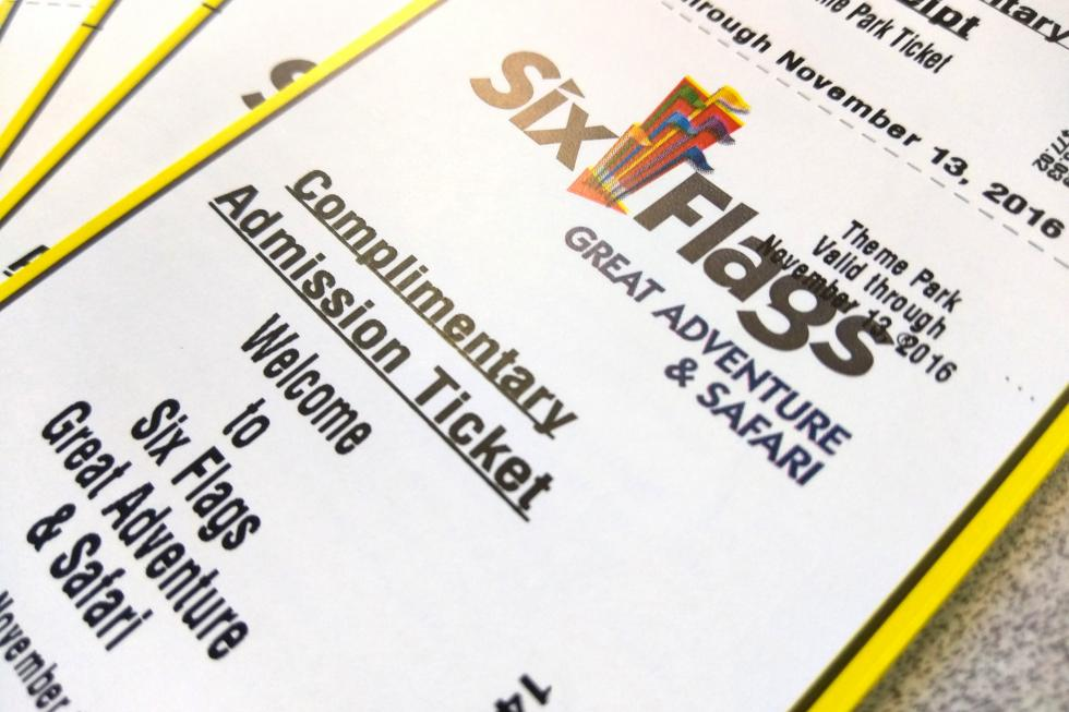 Win 5 tickets to Six Flags Great Adventure