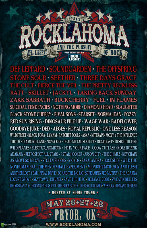 Rocklahoma 2017 Poster