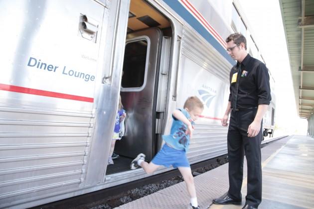 Amtrak National Train Day 2013 - Oklahoma City, OK
