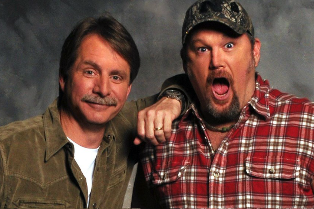 Jeff Foxworth, Larry the Cable Guy