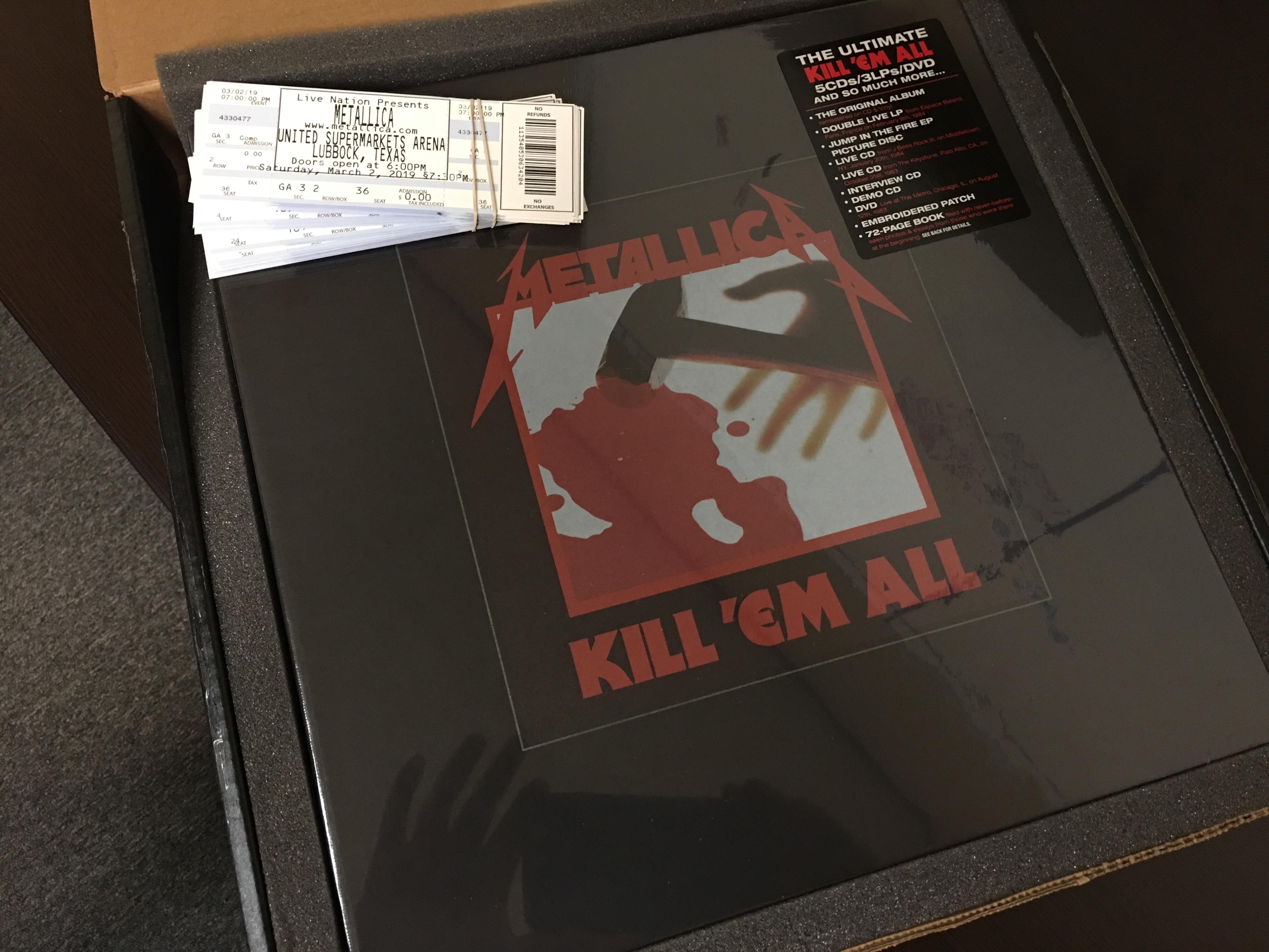 Metallica - Lubbock\'s Rock 94.5