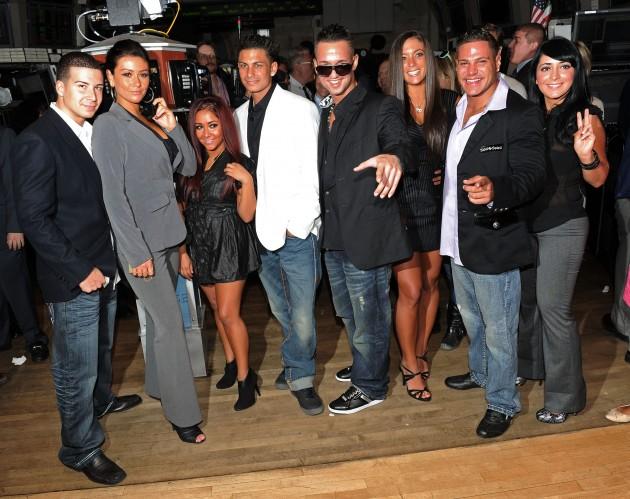 "Cast Of ""Jersey Shore"""