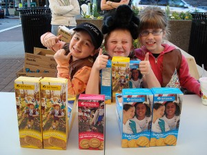 Girl Scouts and Their Cookies